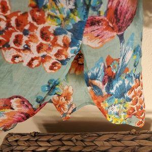 Aratta Silent Journey Tops - Beautiful Aratta Silent Journey floral blouse sz M